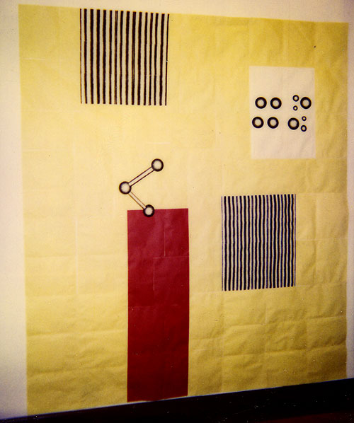 1996 Paper Piece (Yellow)