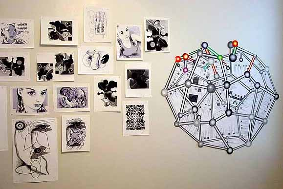 deviant buckyball w drawings