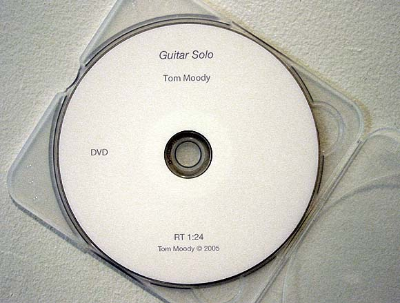 Guitar Solo DVD