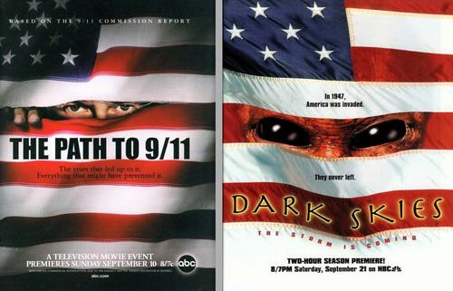 Path to 9-11 Alien Poster