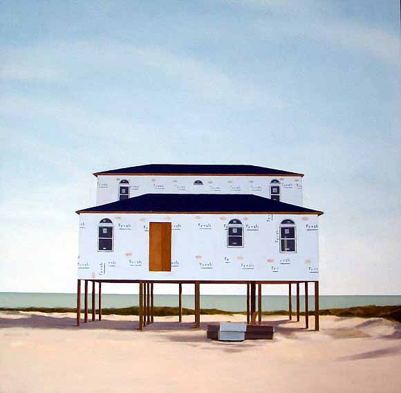 Kara Hammond - Tyvek Beach House