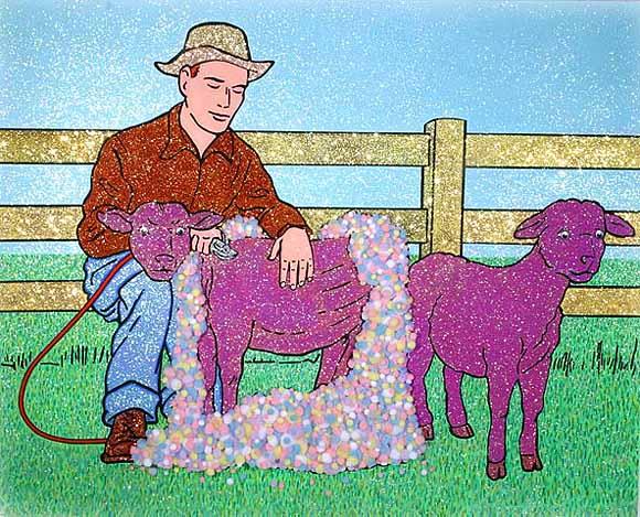 John Zoller - Shearing Sheep in Nevada