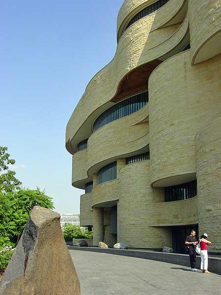 natl museum american indian exterior