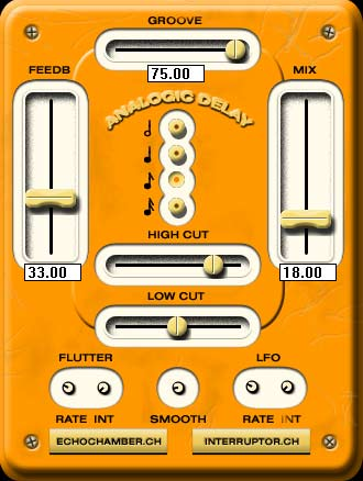 The Interruptor VST plug-in