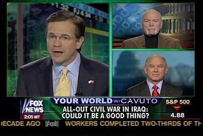 Fox News: Iraqi Civil War a Good Thing?