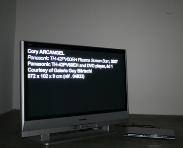 Cory Arcangel - Screen Burn