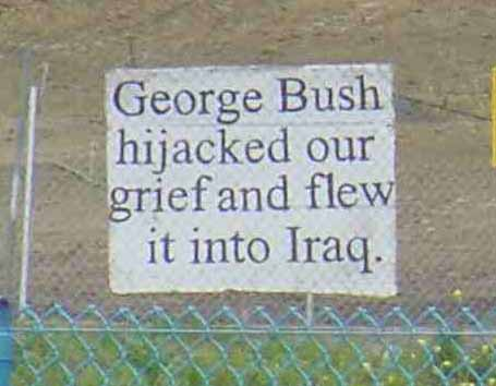 Bush Hijacked Our Grief