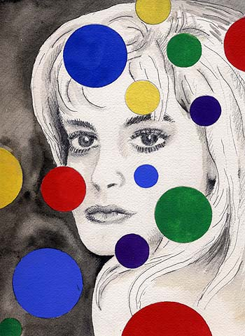 Girl and Dots