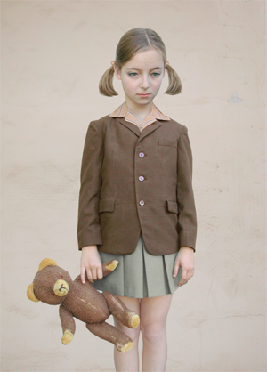 Loretta Lux - Girl With Teddy Bear