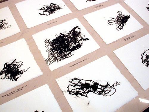 Kristin Lucas Mousepad Drawings