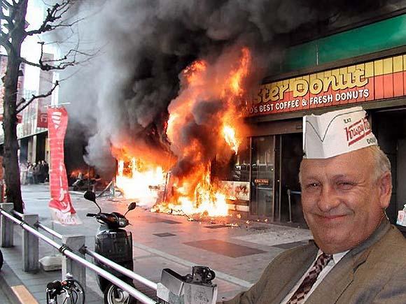 Krispy Kreme vs Mister Donut