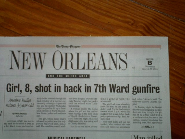 7th Ward shooting