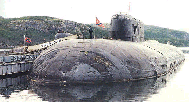 445d39aa007 It had two nuclear reactors and could reach speeds of 28 knots. It was the  largest attack submarine in the world