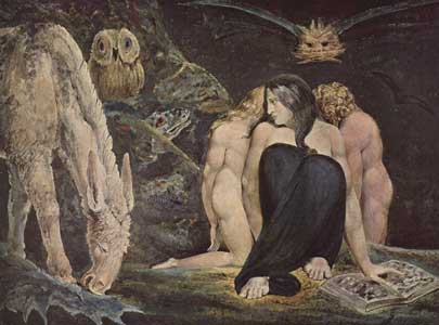 william blake. painting by William Blake.