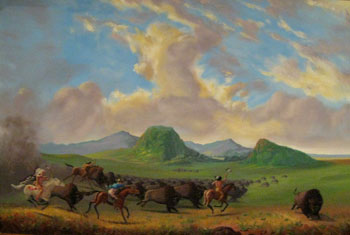 Kent Monkman buffalo