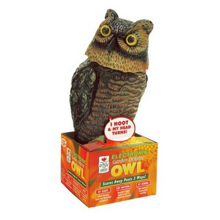 Vigilant Battery Powered Garden Defense Owl.